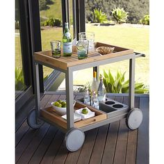alfresco cart from crate & barrel. so cute for the porch or the kitchen!