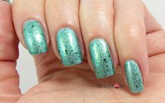 Green Topped Nails for Topper Time #7
