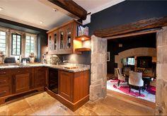 Kitchen at Swinsty Hall, Fewston