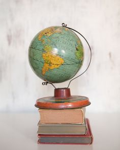 I really want a #vintage globe!! http://www.luckies.co/