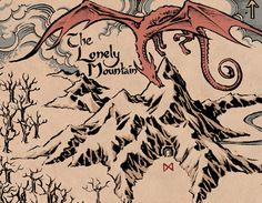 Smaug and the Lonely Mountain, The Hobbit.