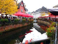 Saarburg e sua formidável cachoeira no centro da cidade