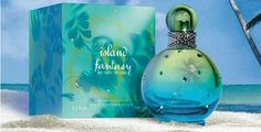 Island Fantasy is the new fragrance of Britney Spears. Launched in April 2013, the fragrance has been publicized as a sweet fruity and floral tropical island getaway scent. This fragrance opens with a citrus cocktail of mandarin, red berries and watermelon, followed by floral notes of jasmine, freesia, and violet; and finally, you will enjoy lower notes of sugar cane and musk that will leave you dreaming of magnificent beaches, ocean breezes and bright sunshine.