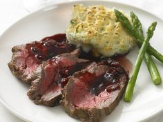 """""""Roast Beef Tenderloin with Red Currant Jus"""" from Cookstr.com #cookstr"""
