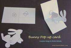 Kids Homemade Pop Up Cards and Wonderland! - Wild About Here - Kids Homemade Pop Up Cards and Wonderland! Useful Origami, Origami Easy, Kids Origami, Arte Pop Up, Diy For Kids, Crafts For Kids, Pop Up Karten, Pop Up Card Templates, Alice Book