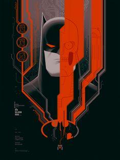 Batman The Animated Series Mondo Art - Silicon Soul