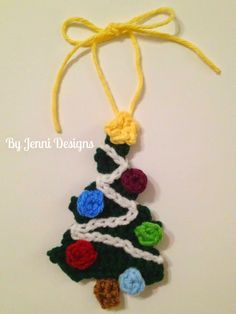 Since it's about that time, I suppose I'll re-add this Christmas Tree Ornament pattern I wrote up last year! I had an after thought for thes...