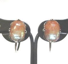 Antique Sterling Saphiret Earrings - La Perlerie*Ange(ラ・ペルリ*アンジェ)