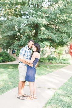 Victor + Lindsay Georgetown Engagement