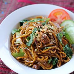 Malaysian Style Spicy Stir Fried Noodles
