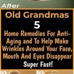 Anti Aging Remedies Old Grandmas 5 Home Remedies For Anti-Aging and To Help Make Wrinkles Around Your Face, Mouth And Eyes Disappear Super Fast! Anti Aging Night Cream, Best Anti Aging Creams, Anti Aging Skin Care, Home Remedies For Skin, Acne Remedies, Natural Remedies, Face Cream For Wrinkles, Skin Care Tips, Eyes