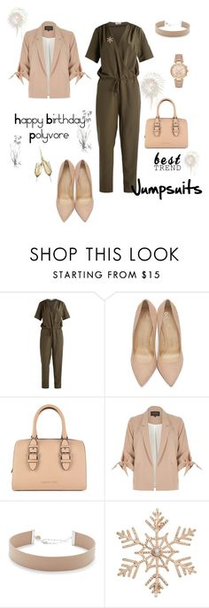 """""""Celebrate Our 10th Polyversary!"""" by yasmine-elansary ❤ liked on Polyvore featuring Charlotte Olympia, Armani Jeans, River Island, Jennifer Zeuner, John Lewis, Michael Kors, polyversary and contestentry"""