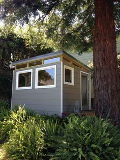 Modern-Shed 10 x12 Craft Studio - Westcoast Outbuildings