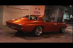 Pro street Corvette...