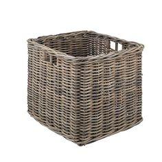 Kubu Large Log Basket http://www.wovenhill.co.uk/Home-Storage/Kubu-Rattan-Square-Large-Storage-Log-Basket.aspx