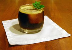 Bufala Negra: Bourbon, basil, brown sugar, balsamic syrup (!!!), ginger beer