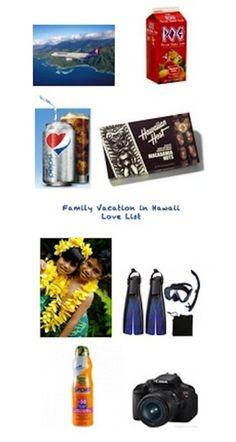Diet Pepsi Love List