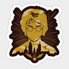 The Boy Who Lived Arte Do Harry Potter, Harry Potter Imagines, Harry Potter Films, Harry Potter Theme, Harry Potter Fandom, Pop Stickers, Bubble Stickers, Printable Stickers, Harry Potter Portraits