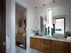images of master bath with pendant lights - Google Search