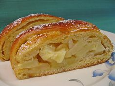 german apple cake Apple pie made from shortcrust pastry by Christine_R German Apple Cake, Almond Paste, Shortcrust Pastry, Apple Desserts, Blondies, Apple Pie, Deserts, Food And Drink, Sweets