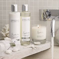 Seychelles by The White Company. Bathroom scents