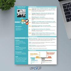 CV Ingénieur Informatique Modèle CV sur mesure moderne - UPCVUP Cv Ingenieur, Job Resume Template, Beginning Sounds, Text Posts, Modern