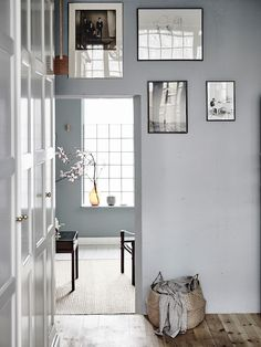 Even though I've published over 1000 Scandinavian home tours here on My Scandinavian Home, there are some spaces which really stand out. This Swedish family home in Gothenburg is one of them. Scandinavian Interior Design, Scandinavian Home, Home Interior, Interior Architecture, Interior Door, Decoration Inspiration, Interior Inspiration, Inspiration Boards, Eclectic Living Room