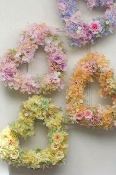 Beautiful Flower Hearts......