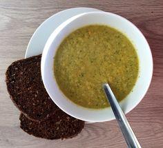 Zoete aardappel-broccolisoep – Sport Foodblog
