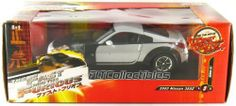 """""""Fast and Furious 3 - Tokyo Drift"""" 2003 Nissan 350Z 1:18 Scale (Black/Silver) by Ertl. $64.99. Not Suitable for Children Under 8 Years Old. Official Licensed Product. Detailed Interior/Exterior. 1:18 Die Cast Metal Car with Plastic Parts. Openable Doors and Hood. This is a 1:18 Scale replica of the Black and Silver 2003 Nissan 350Z featured in the movie Fast and Furious 3 Tokyo Drift, made by Ertl."""