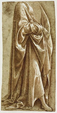 The Classical Pulse: Michelangelo: Drapery Studies Miguel Angel, Michelangelo, Linear Art, High Renaissance, Jesus Art, Italian Painters, Classical Art, Drawing Poses, Art Drawings