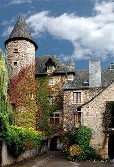 Sainte Eulalie d'Olt, France