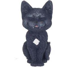 Count Kitty, kat met vampiertandjes beeld zwart - Fantasy - Nemesis Now Crazy Cat Lady, Crazy Cats, Vampire Fangs, Cute Black Cats, Fairy Figurines, Cat Art, Funny Cats, Lion Sculpture, Kitty