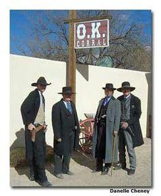 ♥ Sidetrip to Tombstone AZ. Marshalls at work