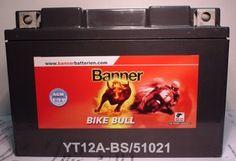 Motorradbatterie 12V/10 Ah(C10)  Maße: LxBxH 150x87x105 (mm) für Suzuki SV650, GSX-R750, TL1000R