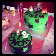 1st & 3rd Birthday Cakes
