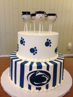 Graduation Cakes - The Well Dressed Cake(610) 376-CAKE
