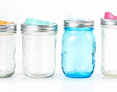 """Back-to-School Gear: 21 of the Coolest Finds:  """"Turn ordinary mason jars into on-the-go bottles with a twist of your wrist."""""""