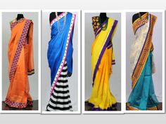 A few sarees from the Festive Collection 2013