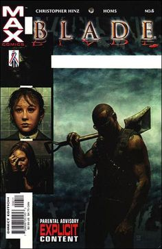 Blade Vol. 2 # 6 by Timothy Bradstreet