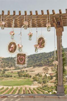 Clos LaChance - Carlie Statsky Photography - Nicole Ha florals - wedding ceremony ideas