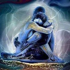 Soul Connection, Spiritual Connection, Art Amour, Twin Flame Love, Twin Flames, Flame Art, Twin Souls, Soul Healing, Healing Meditation