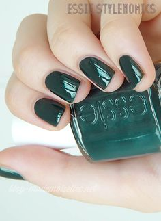 Essie Stylenomics ~ Todays favorite nail color.   Looks great on short nails!