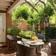 We are so blessed to have designed our own #homerenovation. This is our beautiful outdoor space. #interiordesign #santafe #colorful #beauty