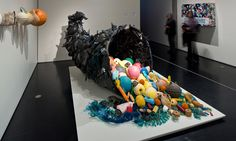 Ocean trash reborn as art in Alaska. Marine debris is transformed into art for a new exhibit at the Anchorage Museum, offering an ee. Plastic Sheds, Plastic Art, Ocean Pollution, Plastic Pollution, Plastic In The Sea, Great Pacific Garbage Patch, Instalation Art, Marine Debris, Sculptures