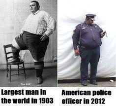 insane. evolution of obesity.