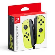 Nintendo Neon Yellow Joy-Con (L/R)