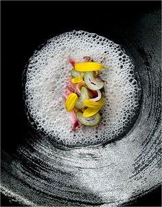 Richard Haughton - Food - L'Astrance #TrueFoodies #fortruefoodiesonly  #gastronomie #gastronomy #chef #presentation #presenter #decorer #plating #recette #food #dressage #assiette #artculinaire #culinaryart