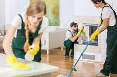 When trying to choose between hiring an individual cleaner and a cleaning service, always go with a cleaning service. They will ensure their employees have gone through a background check and will provide insurance against things that are broken while cleaning. This also makes you free from employment, accounting, and tax responsibilities.