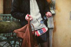flannel+sweater